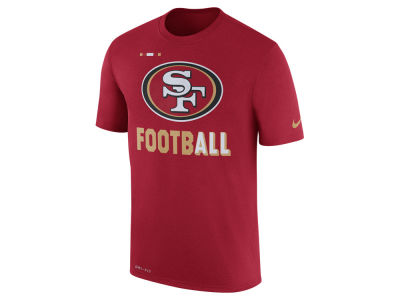 San Francisco 49ers Nike NFL Men's Legend Football T-Shirt