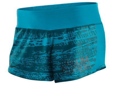 Carolina Panthers Nike NFL Women's Printed Crew Short