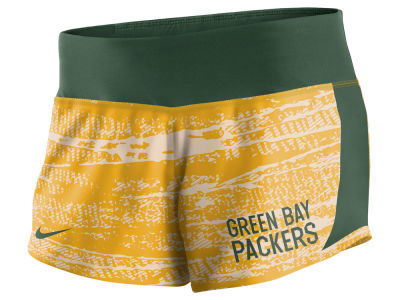 Green Bay Packers Nike NFL Women's Printed Crew Short