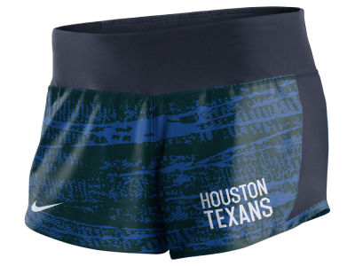 Houston Texans Nike NFL Women's Printed Crew Short