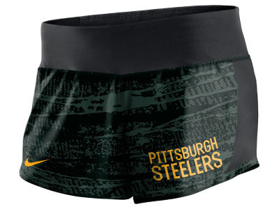 Pittsburgh Steelers Nike NFL Women's Printed Crew Short