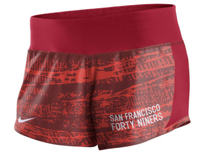 San Francisco 49ers Nike NFL Women's Printed Crew Short