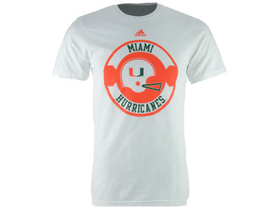 Miami Hurricanes adidas NCAA Men's Legandary Patch T-Shirt