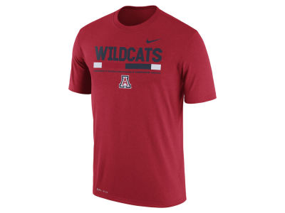 Arizona Wildcats Nike 2017 NCAA Men's Legend Staff Sideline T-Shirt