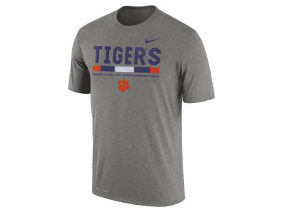 Clemson Tigers Nike 2017 NCAA Men's Legend Staff Sideline T-Shirt