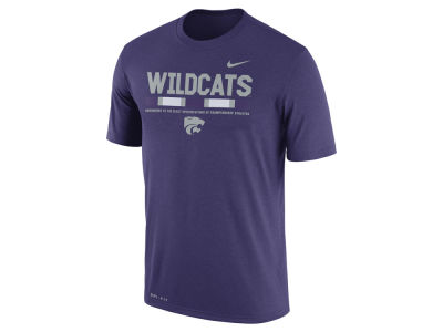 Kansas State Wildcats Nike 2017 NCAA Men's Legend Staff Sideline T-Shirt