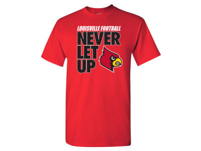 Louisville Cardinals 2 for $28 NCAA Men's Never Let Up T-Shirt