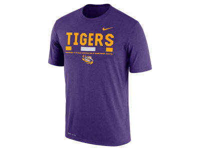 LSU Tigers Nike 2017 NCAA Men's Legend Staff Sideline T-Shirt