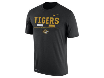 Missouri Tigers Nike 2017 NCAA Men's Legend Staff Sideline T-Shirt