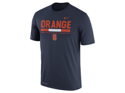 Syracuse Orange Nike 2017 NCAA Men's Legend Staff Sideline T-Shirt