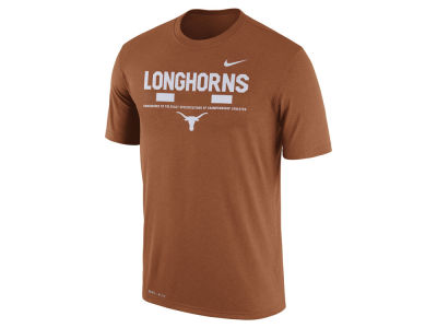 Texas Longhorns Nike 2017 NCAA Men's Legend Staff Sideline T-Shirt