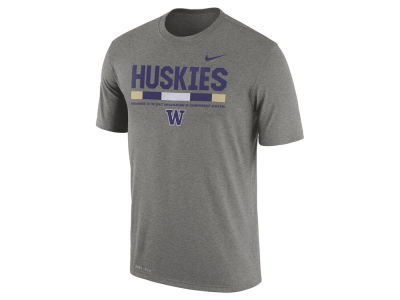 Washington Huskies Nike 2017 NCAA Men's Legend Staff Sideline T-Shirt