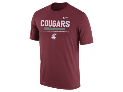 Washington State Cougars Nike 2017 NCAA Men's Legend Staff Sideline T-Shirt