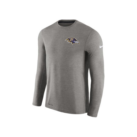 Baltimore Ravens Nike NFL Men's Coaches Long Sleeve T-shirt
