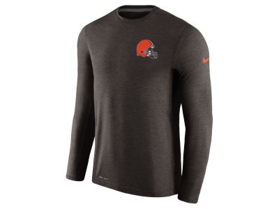 Cleveland Browns Nike NFL Men's Coaches Long Sleeve T-shirt