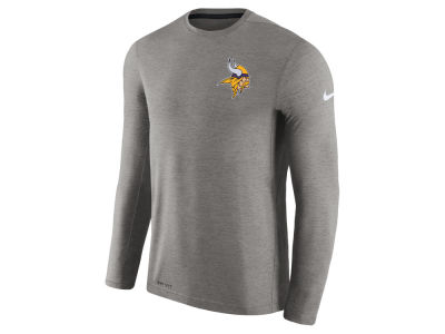 Minnesota Vikings Nike NFL Men's Coaches Long Sleeve T-shirt