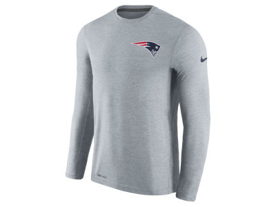 New England Patriots Nike NFL Men's Coaches Long Sleeve T-shirt
