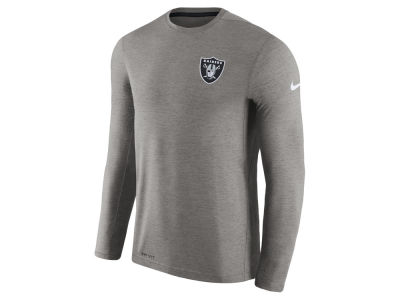 Oakland Raiders Nike NFL Men's Coaches Long Sleeve T-shirt