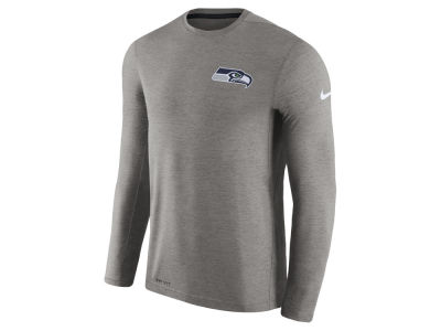Seattle Seahawks Nike NFL Men's Coaches Long Sleeve T-shirt