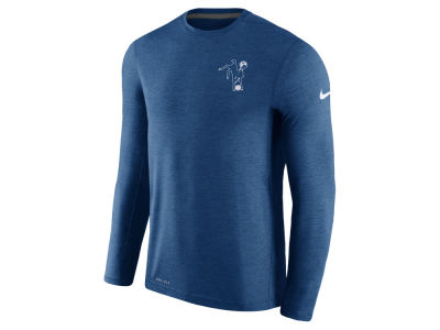 Indianapolis Colts Nike NFL Men's Alternate Coaches Long Sleeve T-shirt