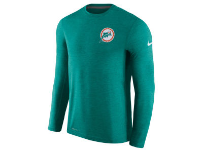 Miami Dolphins Nike NFL Men's Alternate Coaches Long Sleeve T-shirt