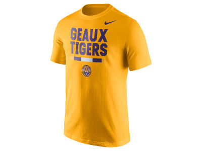 LSU Tigers Nike NCAA Men's Verbiage T-Shirt