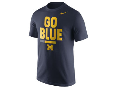 Michigan Wolverines Nike NCAA Men's Verbiage T-Shirt