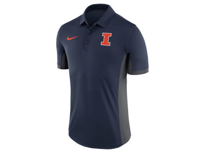 Illinois Fighting Illini Nike NCAA Men's Evergreen Polo