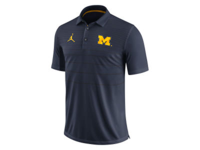 Michigan Wolverines Nike NCAA Men's Early Season Coach Polo