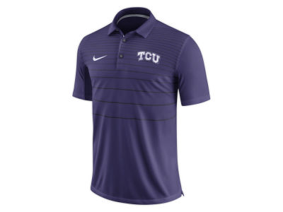 Texas Christian Horned Frogs Nike NCAA Men's Early Season Coach Polo
