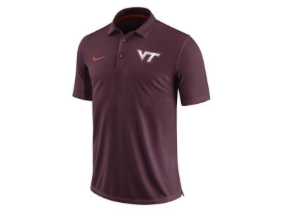 Virginia Tech Hokies Nike NCAA Men's Early Season Coach Polo