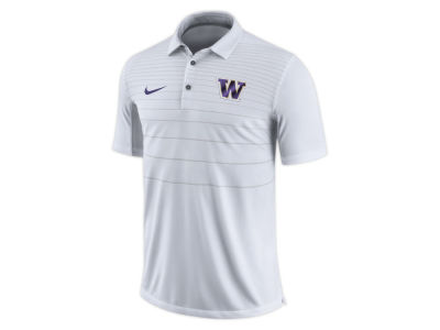 Washington Huskies Nike NCAA Men's Early Season Coach Polo
