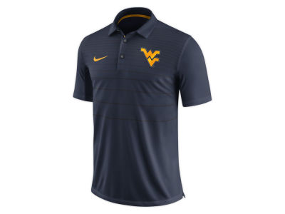 West Virginia Mountaineers Nike NCAA Men's Early Season Coach Polo