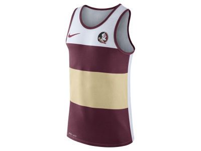Florida State Seminoles Nike NCAA Men's Team Stripe Tank