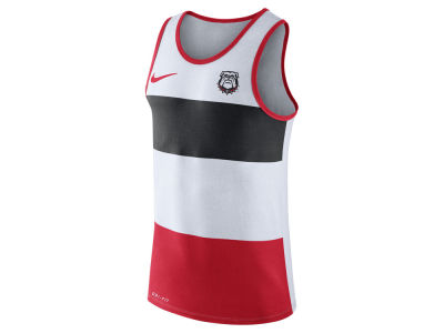 Georgia Bulldogs Nike NCAA Men's Team Stripe Tank