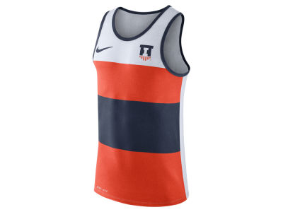 Illinois Fighting Illini Nike NCAA Men's Team Stripe Tank