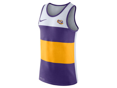 LSU Tigers Nike NCAA Men's Team Stripe Tank
