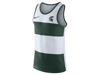Michigan State Spartans Nike NCAA Men's Team Stripe Tank