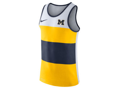 Michigan Wolverines Nike NCAA Men's Team Stripe Tank