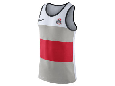 Ohio State Buckeyes Nike NCAA Men's Team Stripe Tank