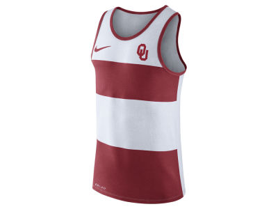 Oklahoma Sooners Nike NCAA Men's Team Stripe Tank