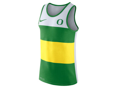 Oregon Ducks Nike NCAA Men's Team Stripe Tank