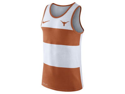 Texas Longhorns Nike NCAA Men's Team Stripe Tank
