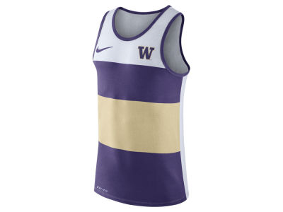 Washington Huskies Nike NCAA Men's Team Stripe Tank