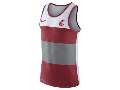 Washington State Cougars Nike NCAA Men's Team Stripe Tank