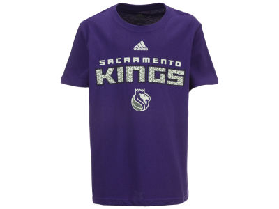 Sacramento Kings adidas NBA Youth Meshing Around T-Shirt