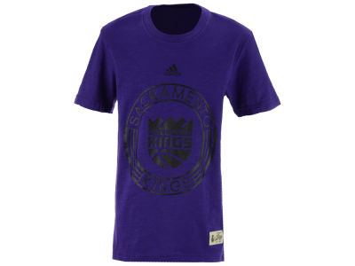 Sacramento Kings adidas NBA Youth 360 Slub T-Shirt