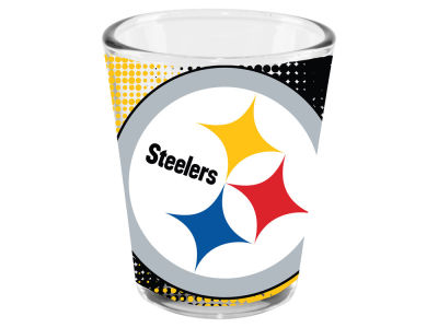 Pittsburgh Steelers 2oz Fade Away Collector Glass
