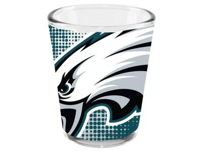 Philadelphia Eagles 2oz Fade Away Collector Glass
