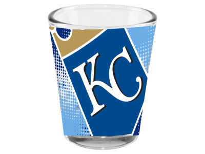 Kansas City Royals Memory Company 2oz Fade Away Collector Glass